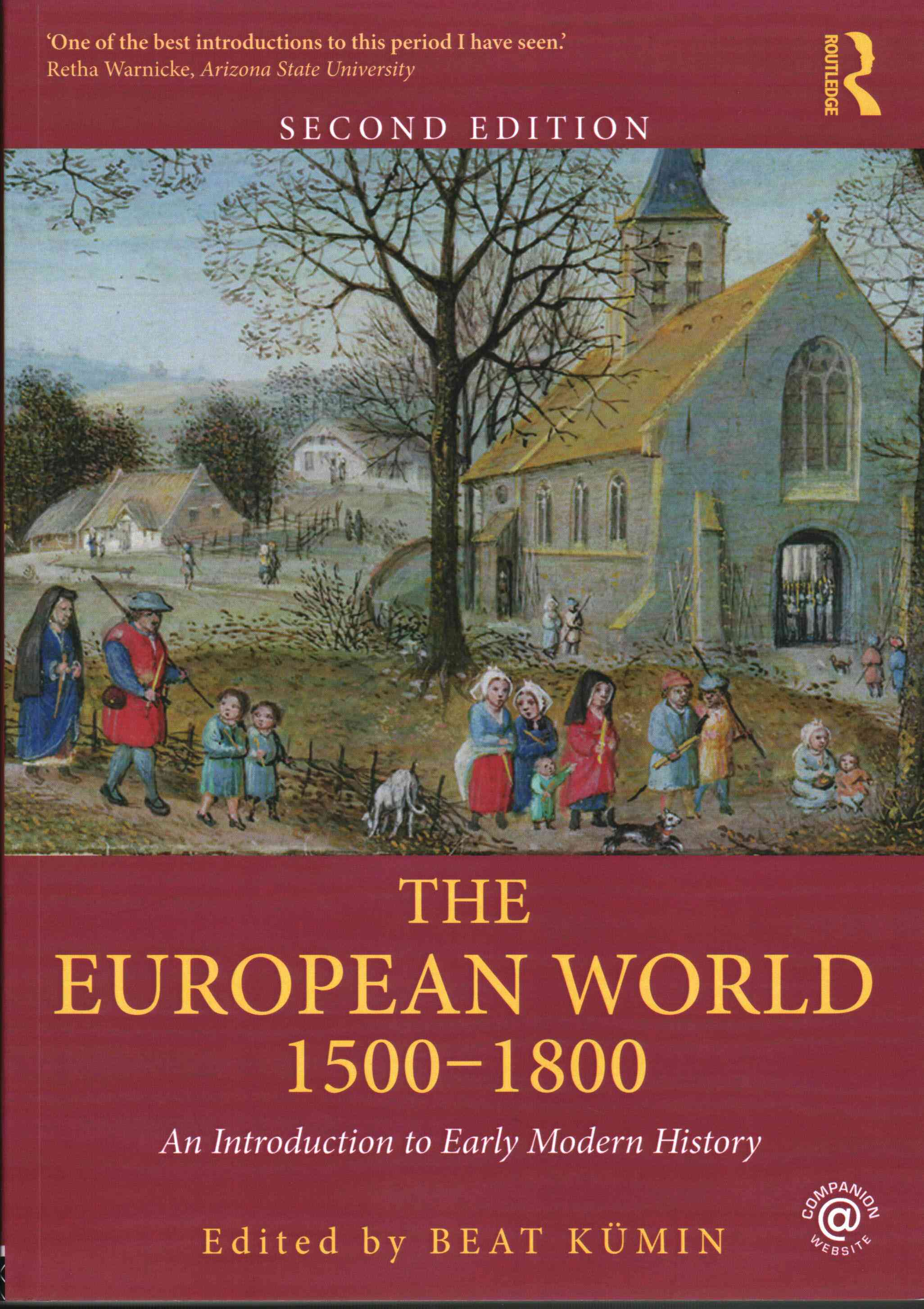 The European World 1500-1800 By Knmin, Beat (EDT)