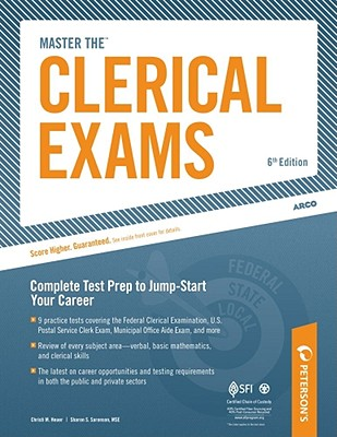 Master the Clerical Exams By Niesz, John J.